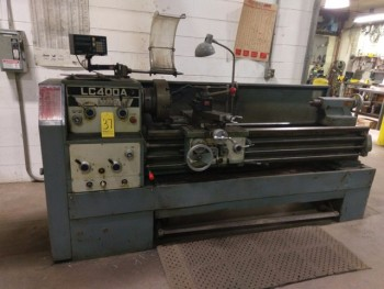 Lunan M#LC400A Lathe Series 346 W/Sony LH32 Digital Readout.