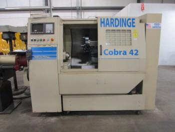 Hardinge Cobra 43 W/Sameca Barfeeder Model LC W/Fanuc 21-TB Controls