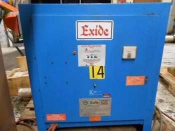 Exide Lead Acid NPC 12-3-680L 12 Cell Battery Charger 240/480V. AC