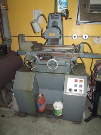Harig 618 Automatic Surface Grinder W/Walker Fine Pole Chuck & Coolant Pump