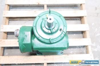 NEW LINK-BELT DM HWV-500-6 1.65 HP 242.9:1 WORM GEAR REDUCER