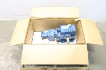 NEW SEW EURODRIVE S77R37AM56 1-1/5 HP 1404:1 WORM GEAR REDUCER