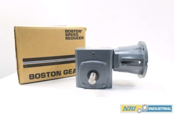 NEW BOSTON GEAR 1.55HP 25:1 140TC WORM GEAR REDUCER