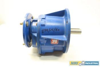 NEW BONFIGLIOLI MAS 30/DF 1 HP 49.6:1 HELICAL GEAR REDUCER