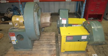2 PALLETS OF ASSORTED NYB BLOWERS