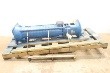 GOULDS MPVN 65.2/12 SB 111 HIGH PRESSURE MULTI STAGE PUMP 3X4IN