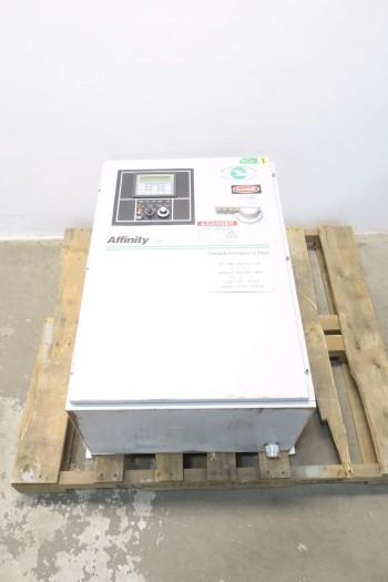 CONTROL TECHNIQUES AFFINITY EV750D1 75HP 480V-AC 100A AC MOTOR DRIVE