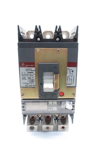 GE SGLB36BB6600C SPECTRA RMS CIRCUIT BREAKER 600A 3P 600V-AC W/600A PLUG