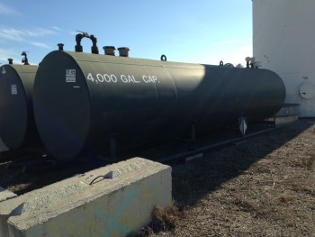4000 gallon Bulk Fuel Storage Tank