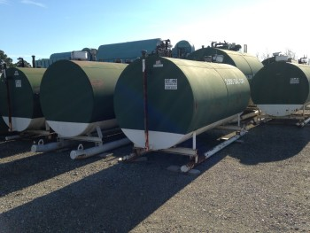 2000 Gallon Storage Fuel Tank