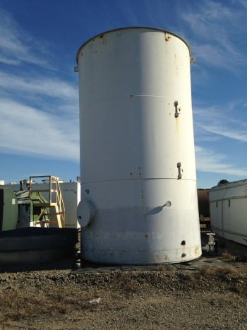 Vertical Bulk Storage Fuel Tank