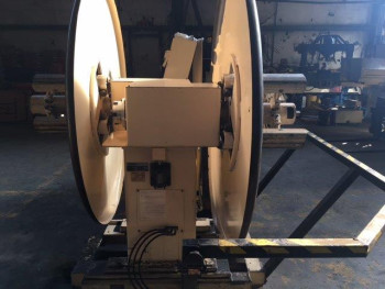 Used Minster Powered Straightener and Double End Uncoiler Combination