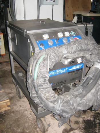 ALPHEUS COLD JET DRY ICE BLASTING MACHINE