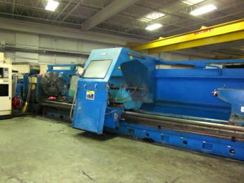 VDF WOHLENBERG CNC SLIDING GAP BORING LATHE