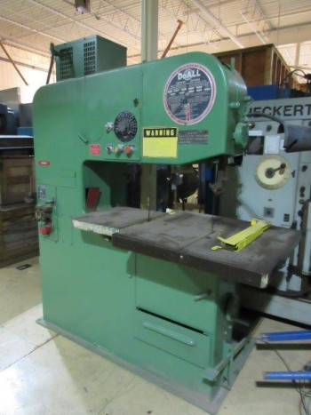 DoALL 3613-20 VERTICAL BAND SAW