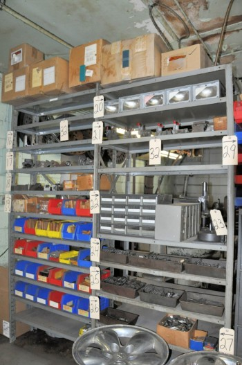 Lot-(3) Sections Shelving,