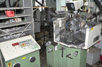 EWAG MODEL RS-12, Swiss Radius and Tangent Grinding Machine,