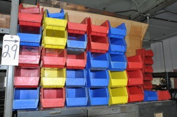 Lot-Plastic Parts Bins