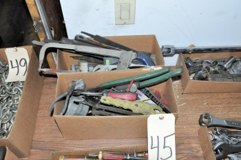 Lot-Assorted Hand Tools in (2) Boxes