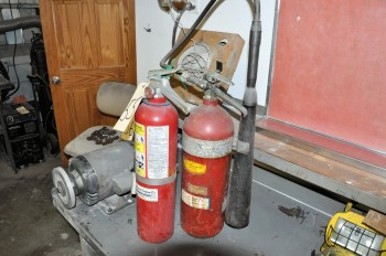 Lot-(2) Fire Extinguishers