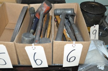 Lot-Assorted Hammers in (2) Boxes