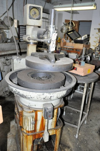 NORTON 18IN Lapping Machine, S/n LV 2836