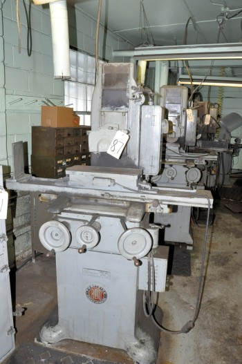REID MODEL 2C, 6IN x 18IN Hand Feed Surface Grinder, S/n N/a