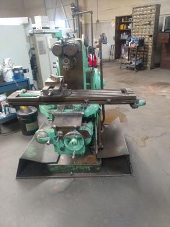 Kearney Trecker Model H Milwaukee mill