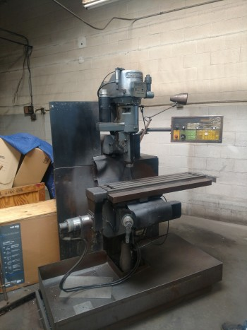 Bridgeport V2E3 vertical CNC Mill