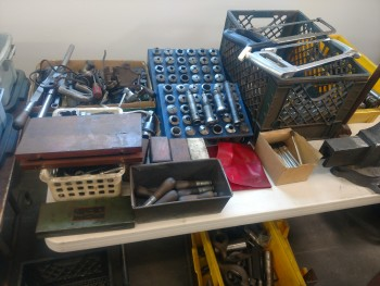 various items and tooling