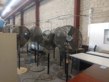 Marley and other Brand Industrial Fans