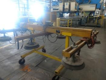 Vacu Lift, Vacuum Plate Hoist Clamp, 3200 cap. S/N 87 07149