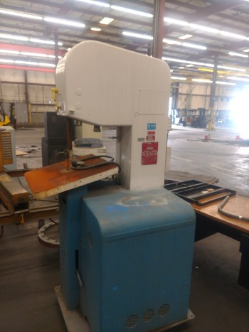 Do All Model 1612 Band Saw, 123 blade, 20 x 24 table, S/N 277 69614