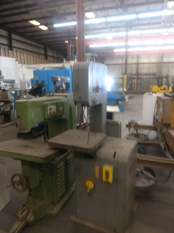 Do All Model BF band Saw, 20 x 20 table, S/N 105-5517