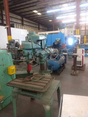 Delta Drill Press, 26 X 15 table, 18 under tool, model 15-120, S/N 144564