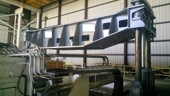 Cyril Bath Model VTL-100 stretch press, S/N M-9200