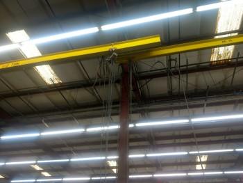 Approx. (20) -1 and 3 ton single girder bridge cranes