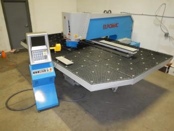 Euromac 2X 1250/30, 5\' X 10\' 30 ton CNC Punch, new 2007