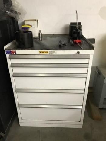 Mate Punch and Die cabinet with five drawers