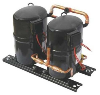 BRISTOL H2DA124DBEL AC Compressor 120.000 Btu H 460V NEW Open Box