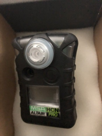 LOT of 14 ALTAIR	10076729C	Altair Pro HCN - Single Gas Detector