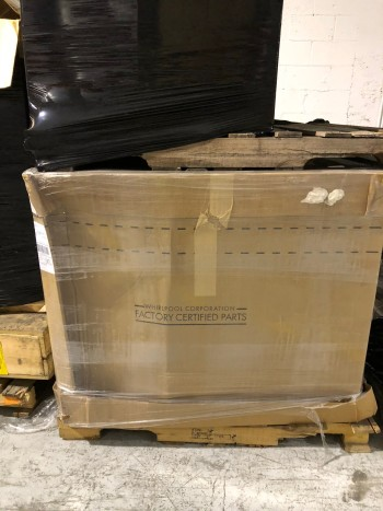 3 Full Pallets New Whirlpool Parts