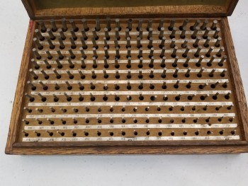 .061 to .250 Pin Gage Set