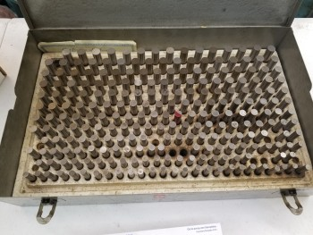 .278 To .5 Pin Gage set
