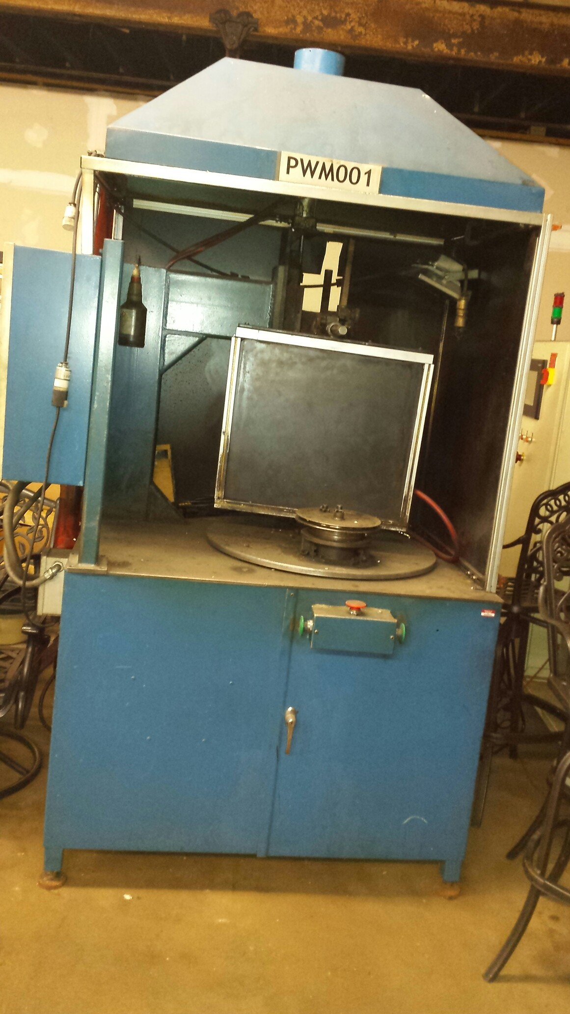 INDEXING ROTARY WELDER