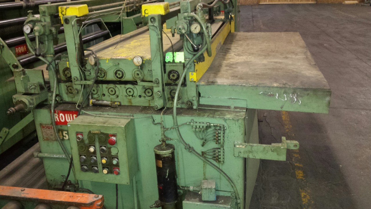 ROWE 7 ROLL STOCK STRAIGHTENER