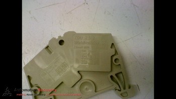 WEIDMULLER ZDU 2.5-2, TERMINAL BLOCK, 2.5MM, 800V, IEC 60947-7-1