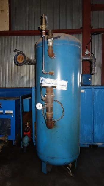 CANADIAN AIR COMPRESSOR CRNC6406 STEEL COMPRESSOR TANK