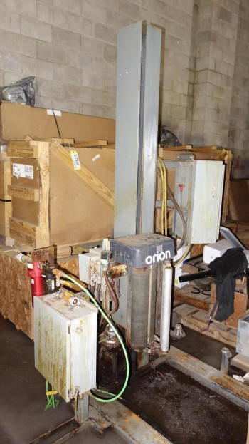 ORION H-66-9X-6L PACKAGING SHRINK WRAPPING MACHINE 120V-AC