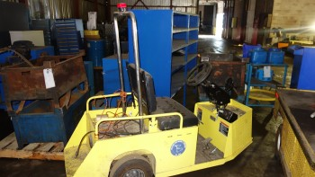 TEXTRON 898320G01 ELECTRIC PERSONEL MOVING CART